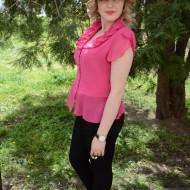 Camasa eleganta din material subtire, roz, cu guler rotunjit, fronsat