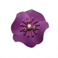 CERCEI RAFINATI cu design de flori colorate,nuanta de mov,auriu,gri,rosu