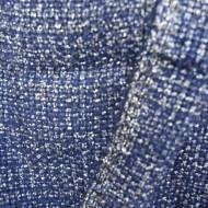 Esarfa moderna,bicolora albastru-argintiu