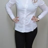 Pantalon rafinat, model tineresc, croi cambrat si design de buline