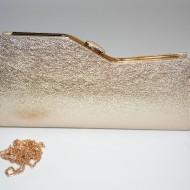Poseta tip clutch,chic cu efect garantat,nuante auriu,negru,argintiu,argintiu-negru