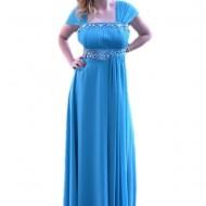 Rochie eleganta lunga, de culoare albastru deschis