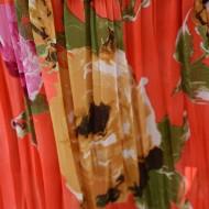 Rochie feminina, de vara, lunga ,culoare corai