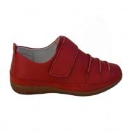 Adidas comod cu talpa usoara, flexibila, de culoare rosie