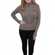 Bluza simpla de marime universala, tip helanca, culoare gri