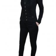 Pantalon tineresc, nuanta de negru, buzunare laterale