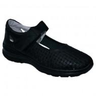 Pantof cu talpa joasa nuanta de negru