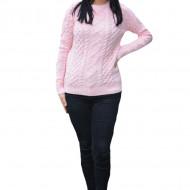 Pulover tricotat Jenny,model deosebit,3D,roz
