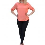 Bluza casual Ada,model simplu,nuanat de corai