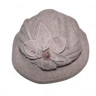 Caciula fashion tip palarie, nuanta de nisipiu