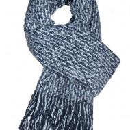 Esarfa tip sal ,forma dreptunghiulara,nuanta bleumarin