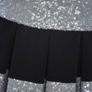 Rochie casual, tinereasca, cu aplicatii de paiete