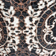Rochie de vara cu design tip baroc de culoarea neagra