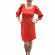 Rochie feminina, rosie, material usor elastic
