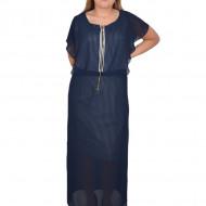 Rochie Joanna,model dungat ,nuanta de bleumarin