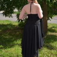 Rochie spectaculoasa , neagra cu paiete aurii