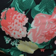 Rochie tinereasca, de vara cu imprimeu floral