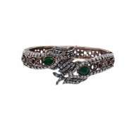 Bratara eleganta cu motive mitologice,nuanta verde