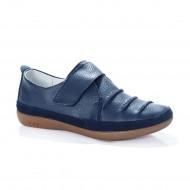 Pantof confortabil de culoare bleumarin, cu talpa usoara, flexibila