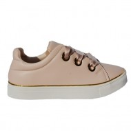 Pantof sport de culoare roz pudra, usor si comod
