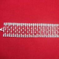 Bratara feminina, neagra, argintie, extrem de versatila BR-2369-LT