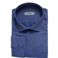 Camasa barbateasca casual ,model simplu,nuanta albastru deschis