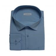 Camasa barbateasca casual ,model simplu,nuanta de albastru