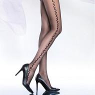 Ciorapi dama,cu model pe picior
