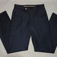 Pantalon casual pentru barbati, la dunga, nuanta de bleumarin