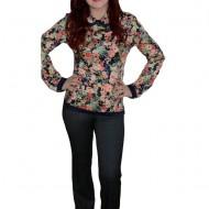 Pantalon deosebit,gri, design modern dungat si nasturi clasici