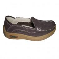 Pantof sport, fara sistem de inchidere, maro, bleumarin, negri