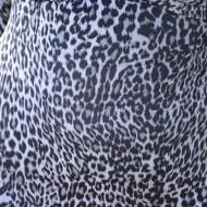 Rochie de club, cu imprimeu animal print