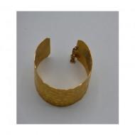 Bratara extravaganta din metal antichizat,auriu
