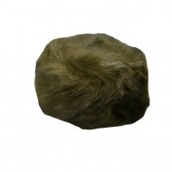 Caciula de iarna din blanita moale,verde si interior captusit