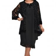 Rochie eleganta din dantela,nuanta neagra