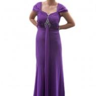 Rochie eleganta, lunga, marimi mari, disponibila in nuanta de mov