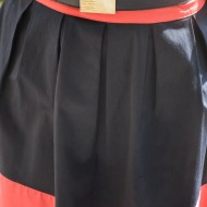 Rochie feminina de vara, casual, bicolora