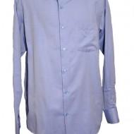 Camasa clasica de barbat cu maneca lunga, de culoare albastra