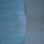 Esarfa deosebita din tesatura din bumbac, de culoare turcoaz