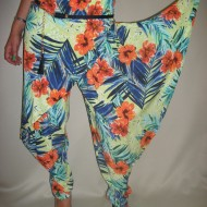 Pantalon  modern, multicolor PA-1428-MC
