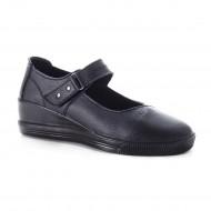 Pantof de dama foarte comod, culoare neagra, din piele naturala