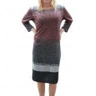 Rochie comoda de zi, model deosebit cu design fashion, colorat