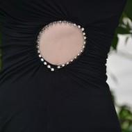 Rochie sexi, cu un cerc decorat cu cristale