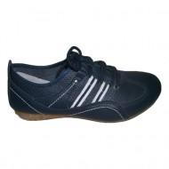 Adidas bleumarin, cusaturi trendy, perforatii rafinate si in tendinte