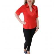 Bluza rafinata , de culoare rosie, masura mare