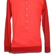 Camasa barbateasca de zi ,maneca lunga ,disponibil in nuanta de rosu