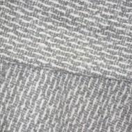 Esarfa tip sal ,forma dreptunghiulara,nuanta gri