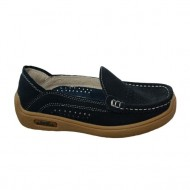 Pantof sport, de toamna, in nuante de gri, negru