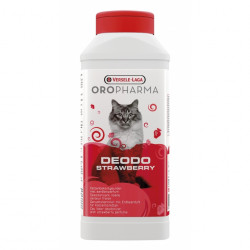 Deodorant tava litiera – pisici (Capsuni) Oropharma 750g