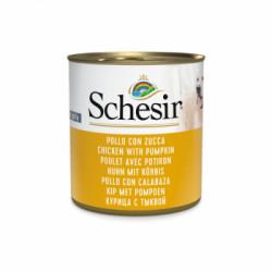Hrana umeda penru caini Schesir fruit pui si dovleac 285 g
